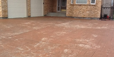 Concrete Sealing - Before